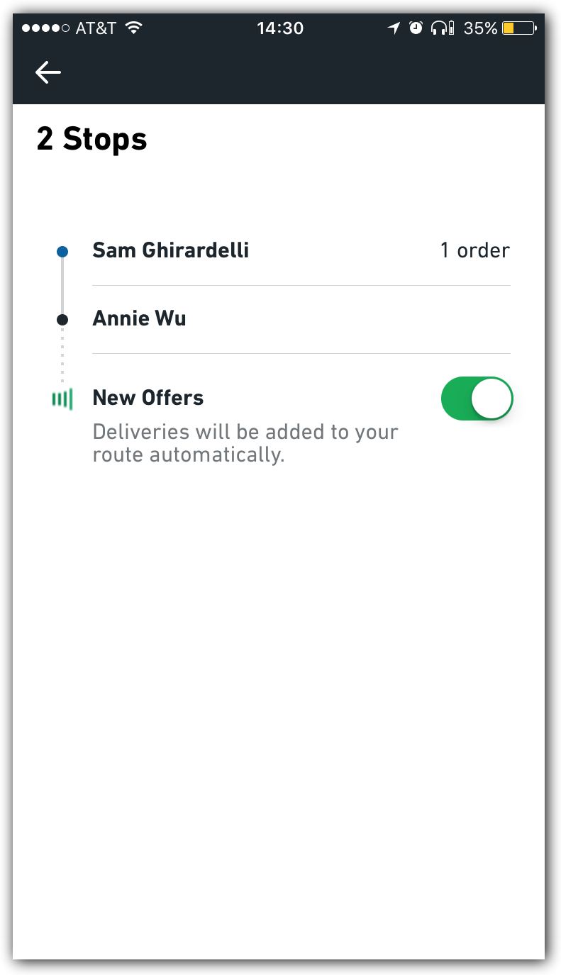 Can I automatically accept new deliveries? - Postmates