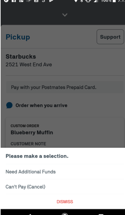 Postmates Credit Card Zip Code | Cardonline co