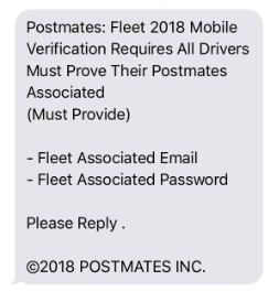 How do I keep my Postmates account safe? - Postmates